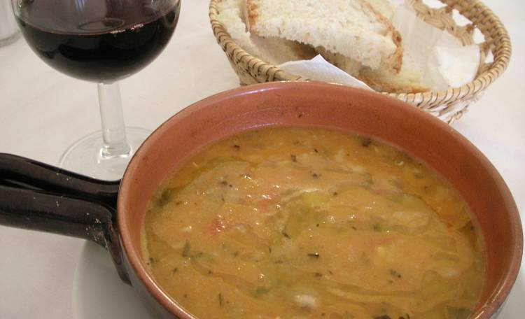 Acquacotta, the typical Maremma dish -