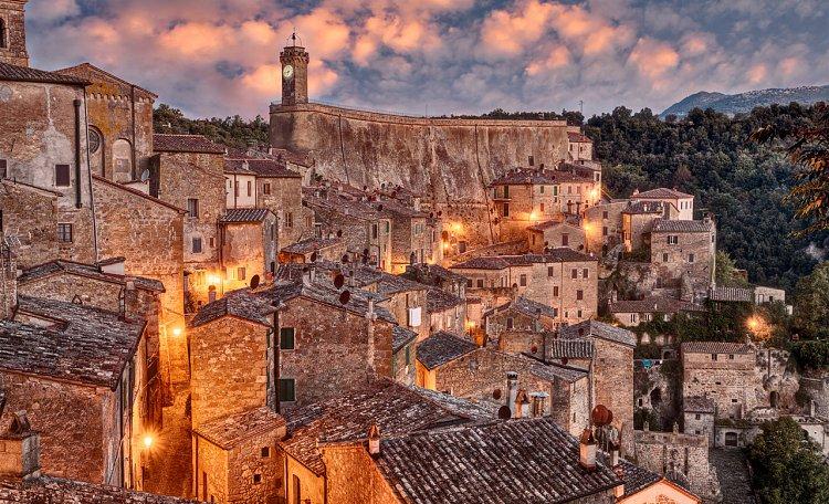 """Sorano - Sorano, """"Matera of Tuscany"""""""