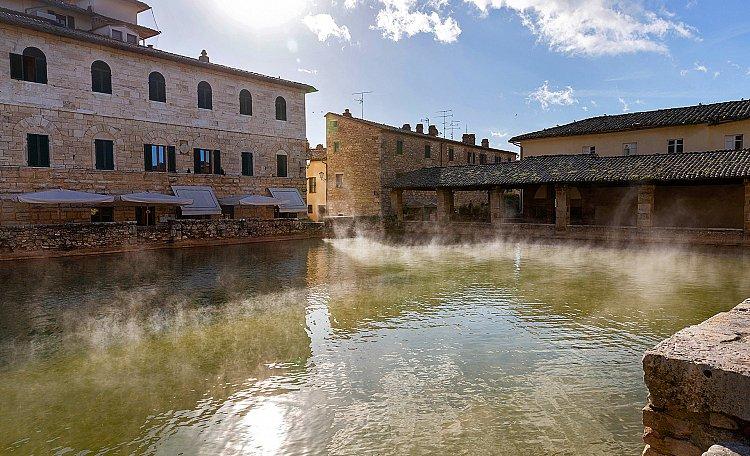 Thermal baths of Santa Caterina in Bagno Vignoni