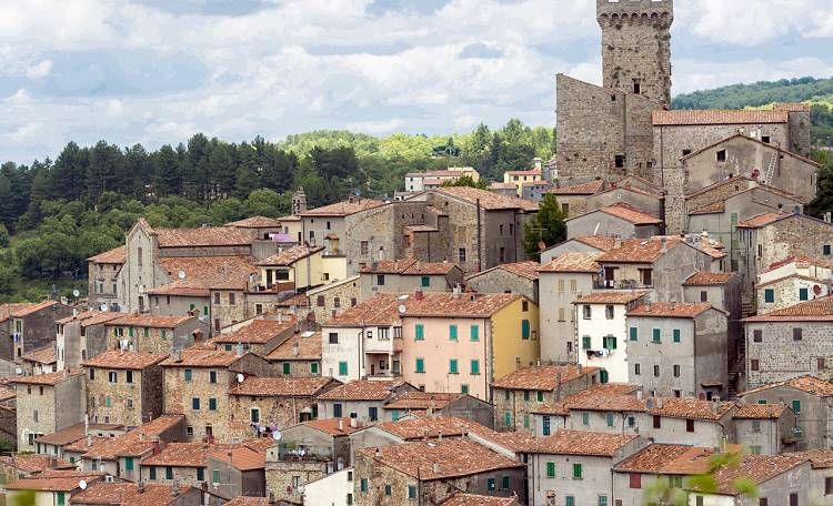 Arcidosso, a village with an ancient flavor