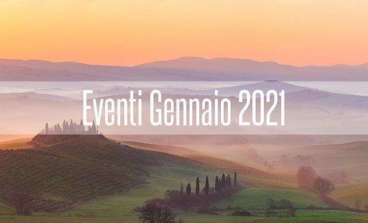 Eventi Gennaio 2021