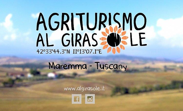 Der Agriturismo Al Girasole (Video) Toskana Drone -