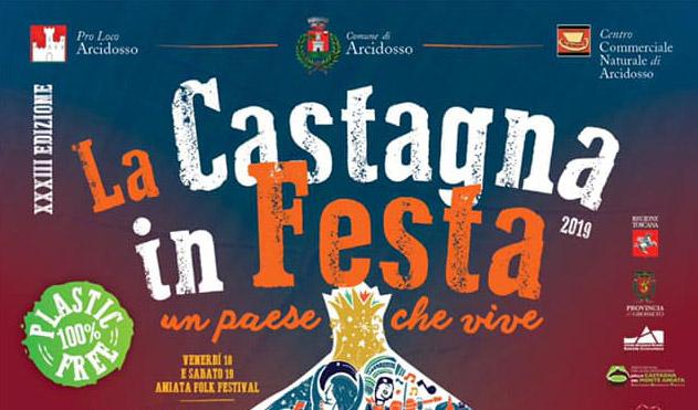 La Castagna in Festa - Dal 18/10/2019 al 27/10/2019nel comune di Arcidosso (GR)