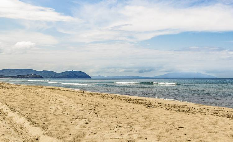The Beach of Rimigliano -